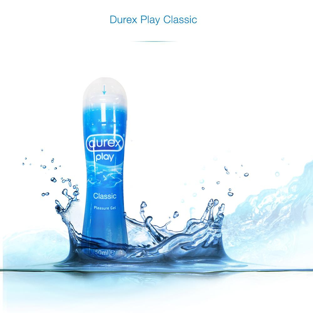 Gel bôi trơn Play Pump 100ml – Durex